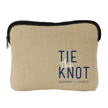 Burlap-Neoprene Kappotto for ipad