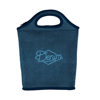 Denim Venti Lunch Bag