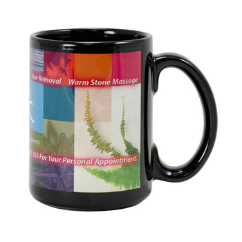 Black Sublimation Mug 15 oz.