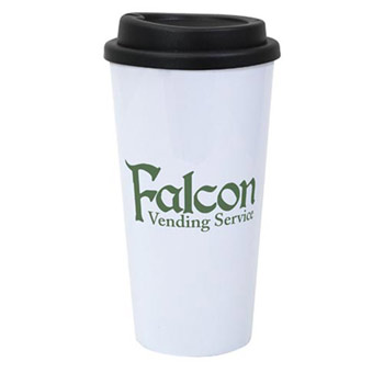 Double-Wall Plastic Travel Tumbler