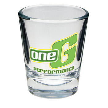 Clear 1.5 oz. Shot Glass