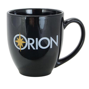 Solid Color Bistro Mug - Black